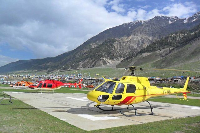 Chardham Helicopter Booking 2018